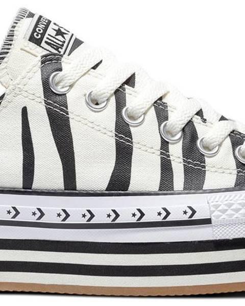 Krémové tenisky Converse