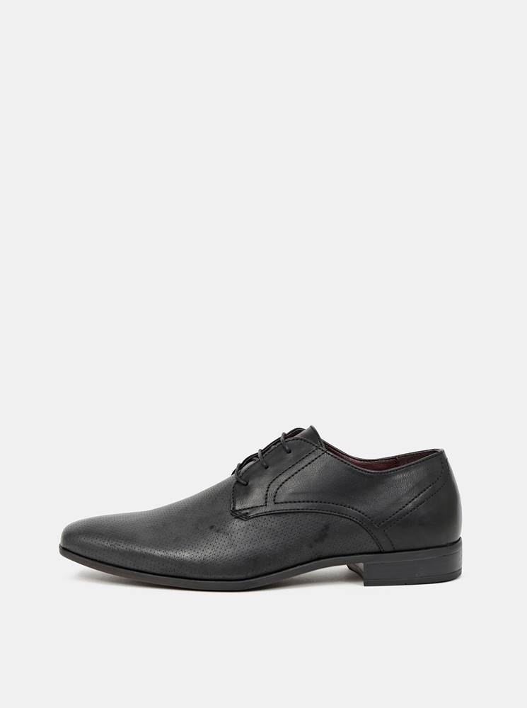 Burton Menswear London Čierne poltopánky Burton Menswear London