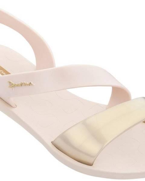 Krémové sandále Ipanema