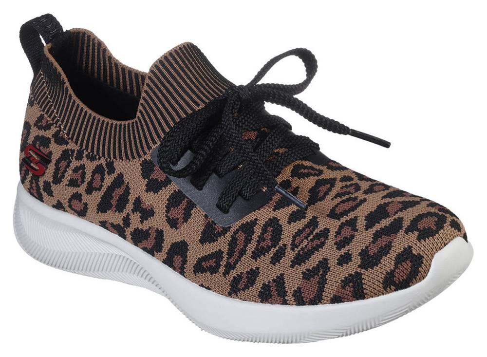 Skechers Skechers leopardie tenisky Bobs Squad 2 Troop Tiger