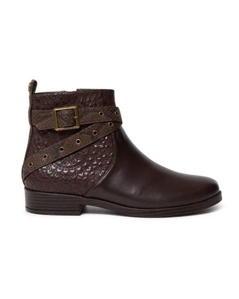 Hnedé topánky Desigual
