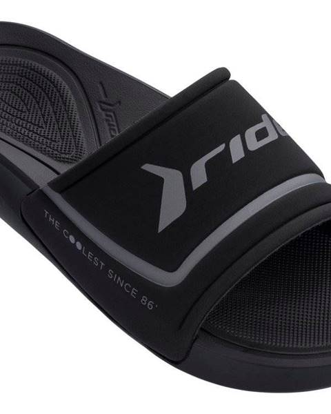 Čierne papuče Rider