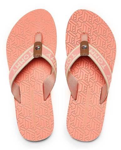 Svetloružové papuče Tommy Hilfiger