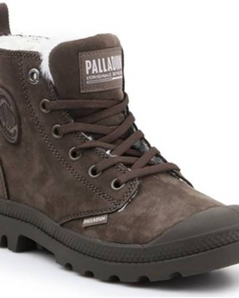 Hnedé polokozačky Palladium