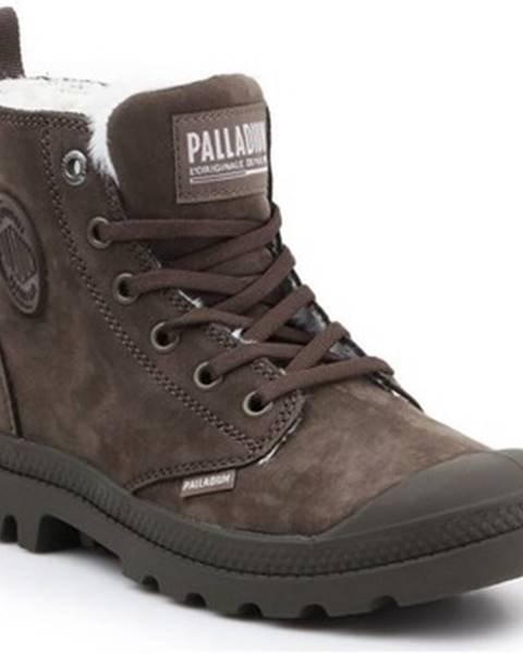 Hnedé topánky Palladium