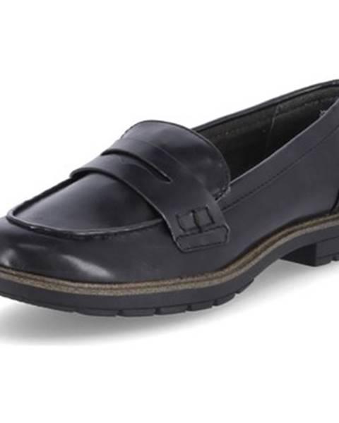 Čierne topánky Tamaris