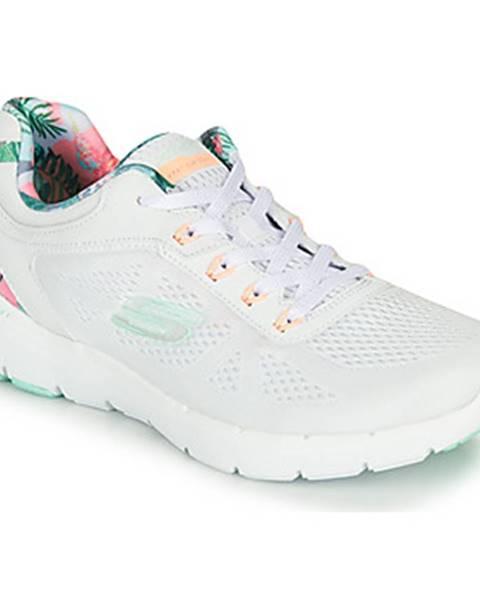 Biele topánky Skechers