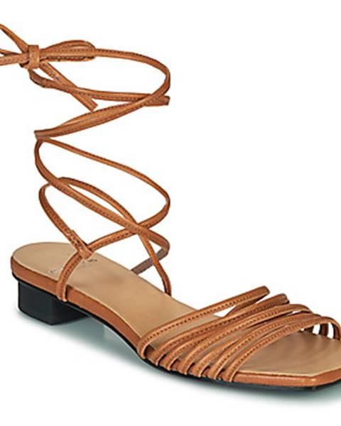 Hnedé sandále Vagabond