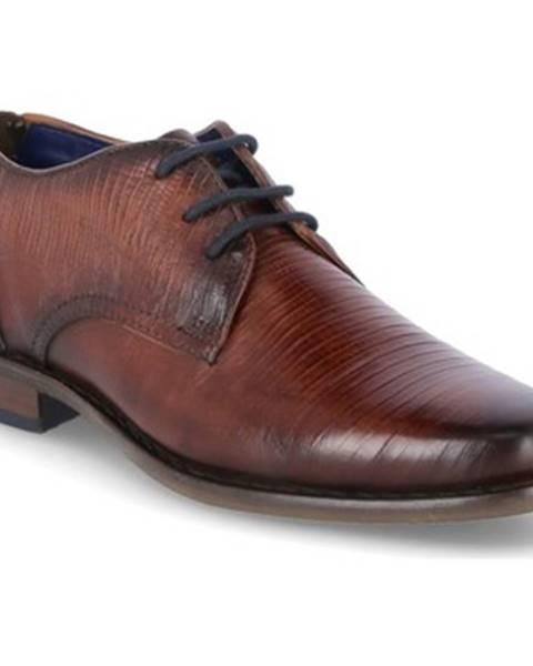 Hnedé topánky Bugatti