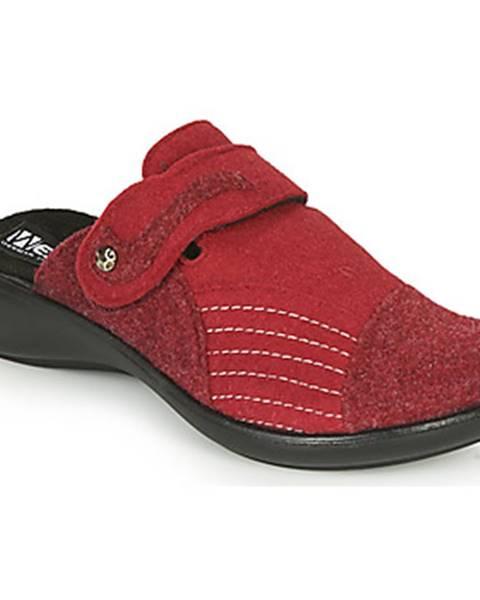 Červené papuče Romika Westland