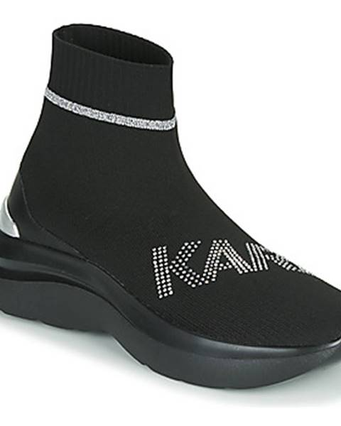 Čierne tenisky Karl Lagerfeld