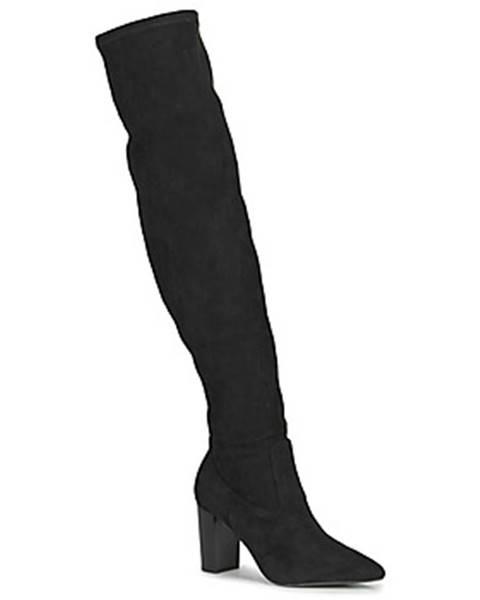 Čierne čižmy Buffalo