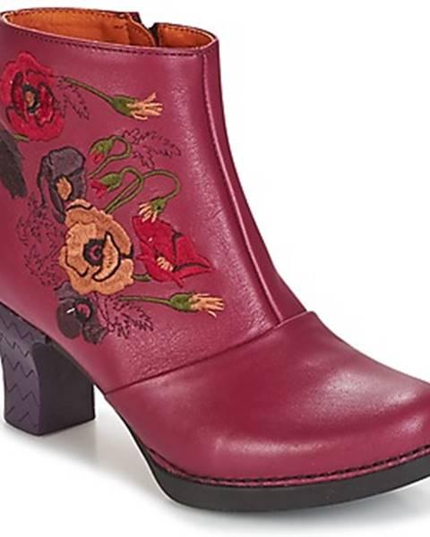 Červené topánky Art