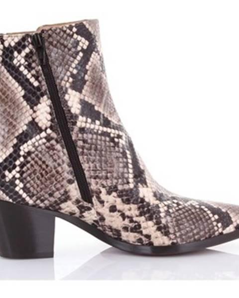 Viacfarebné topánky Mara Bini
