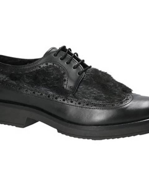 Čierne topánky Mally