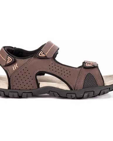 Hnedé sandále Lumberjack