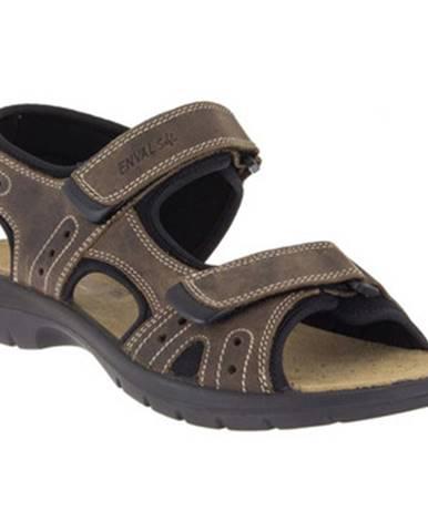 Béžové športové sandále Enval