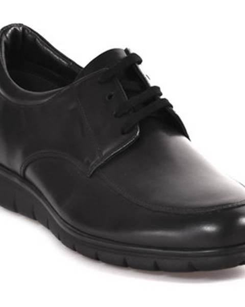 Čierne topánky Soldini