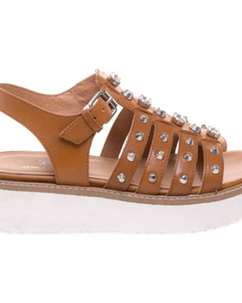 Hnedé sandále Janet Sport