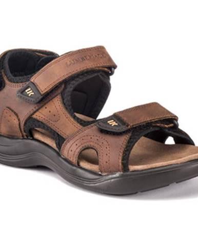 Hnedé športové sandále Lumberjack