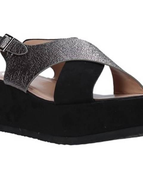 Čierne sandále Onyx
