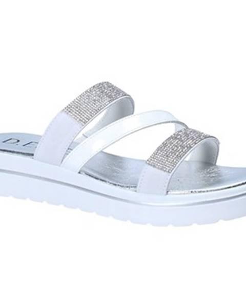 Biele sandále Susimoda