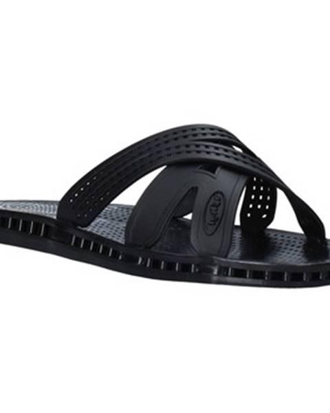 Čierne sandále Sensi