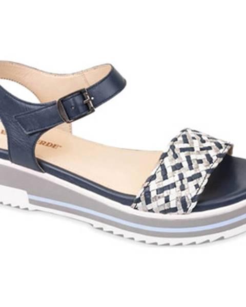 Modré sandále Valleverde