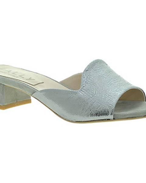 Strieborné topánky Mally