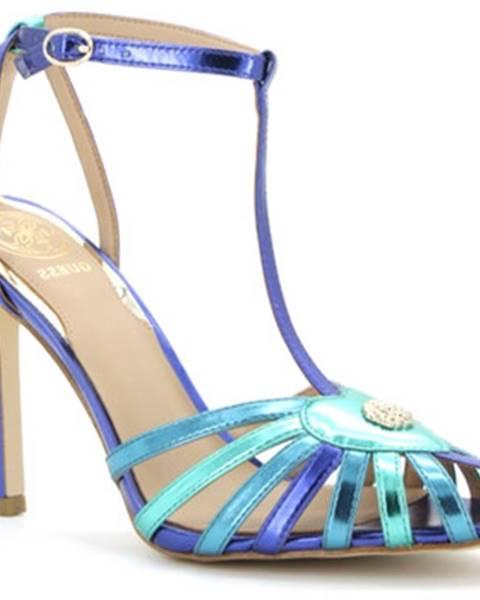 Modré sandále Guess