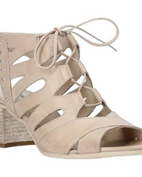Béžové sandále Nero Giardini
