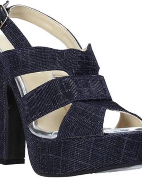 Modré sandále Esther Collezioni