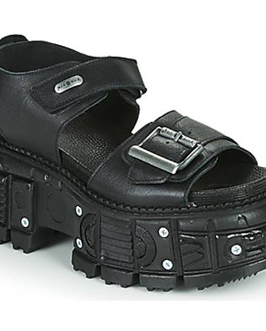 Čierne sandále New Rock