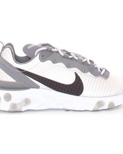 Strieborné tenisky Nike