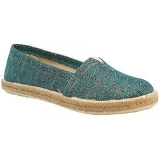 Espadrilky Leonardo Shoes  5500 STARDUST VERDE