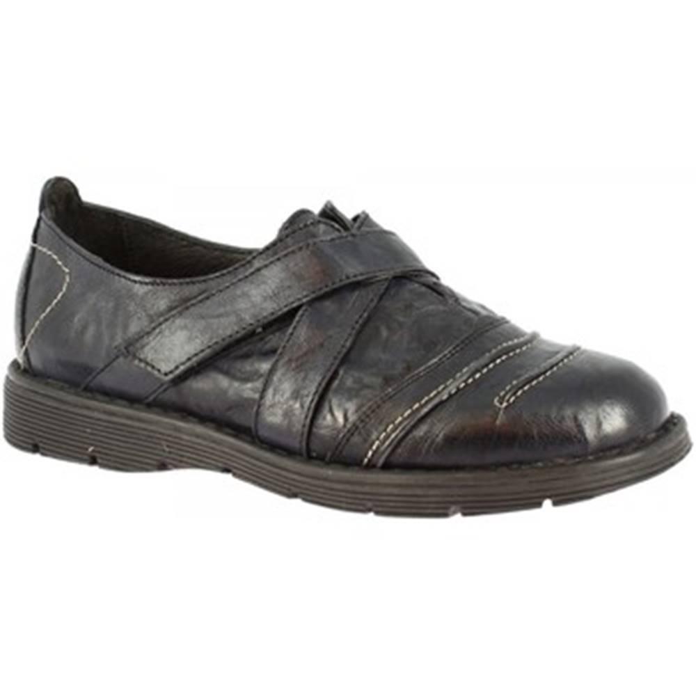 Leonardo Shoes Derbie Leonardo Shoes  2053 BLEU
