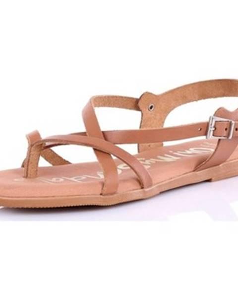 Hnedé sandále Oh My Sandals