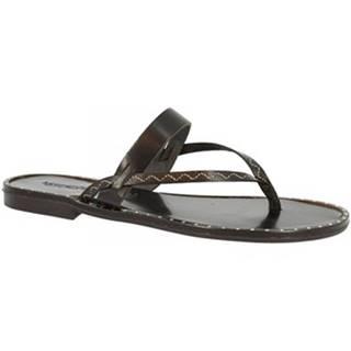 Sandále Leonardo Shoes  AMALFI NERO