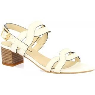 Sandále Leonardo Shoes  C 76 VACCH. BIANCO