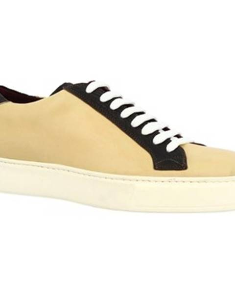 Béžové tenisky Leonardo Shoes