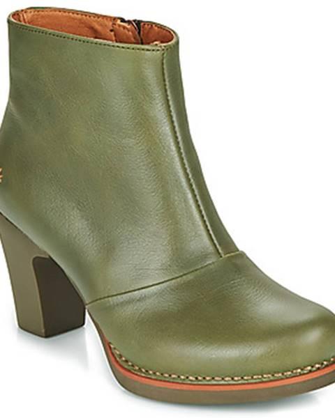 Zelené topánky Art