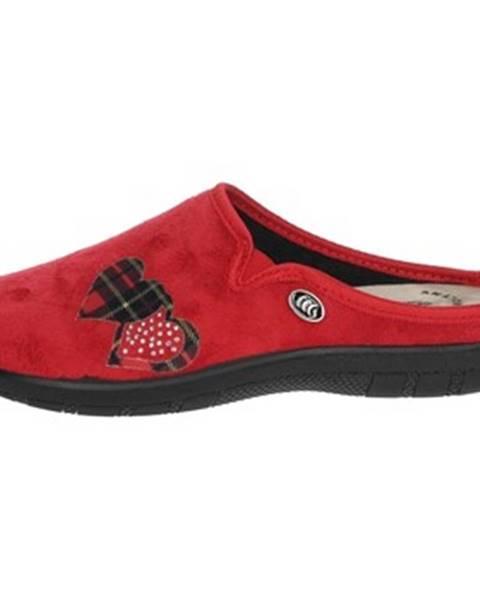 Červené topánky Sanycom