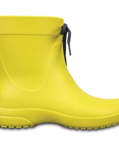 Žlté čižmy Crocs