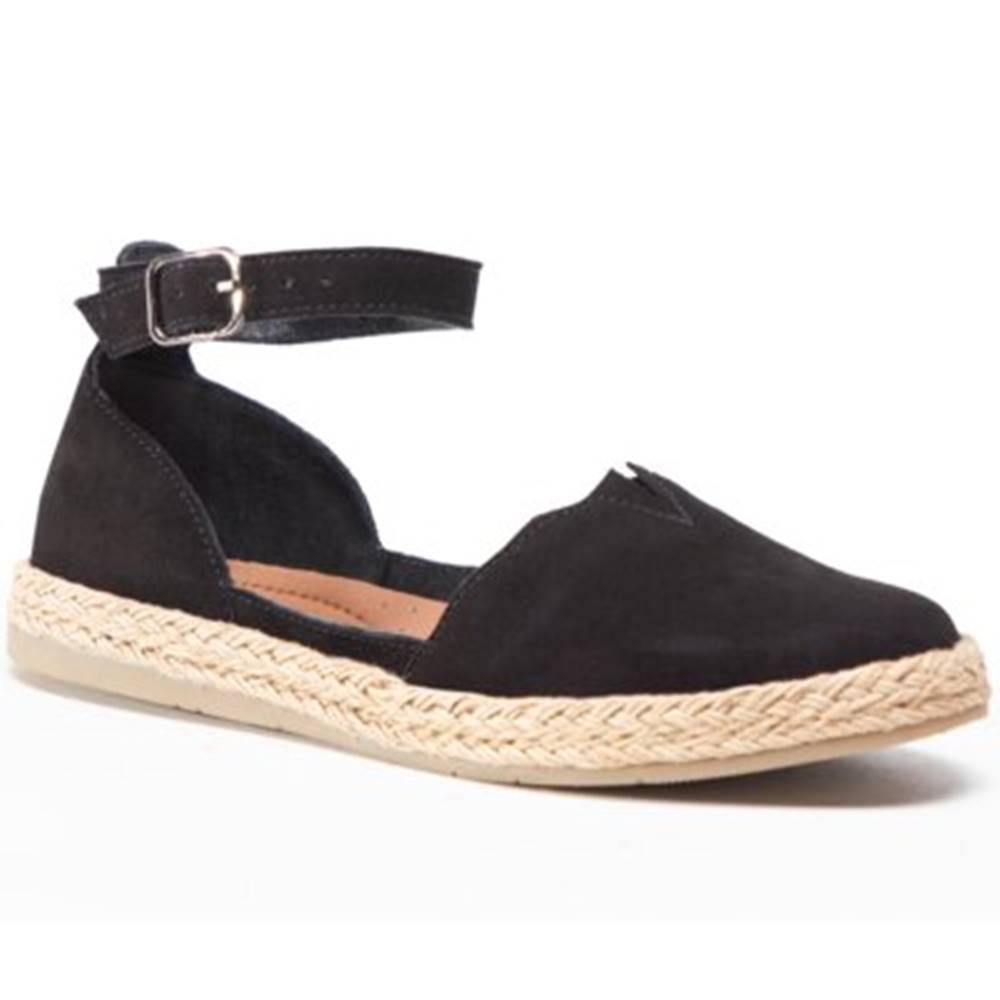 Lasocki Sandále Lasocki WI16-SPAROW-04 Prírodná koža(useň) - Zamš