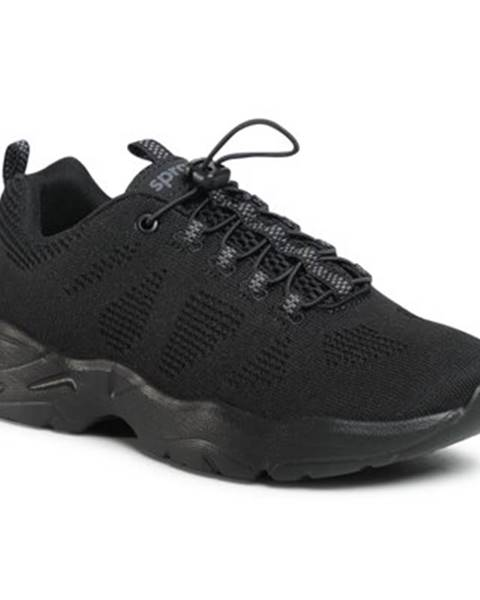 Čierne tenisky Sprandi