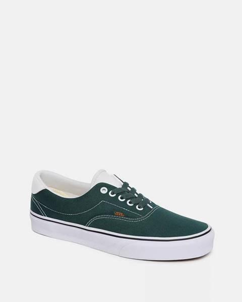 Zelené tenisky Vans