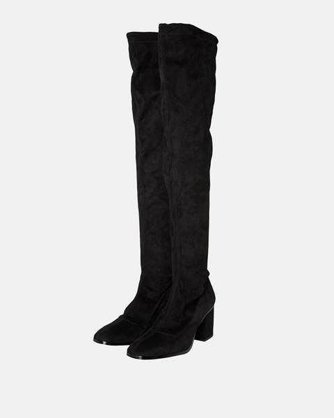 Čierne čižmy Vero Moda