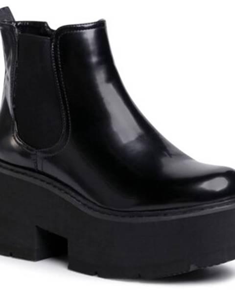 Čierne čižmy DeeZee