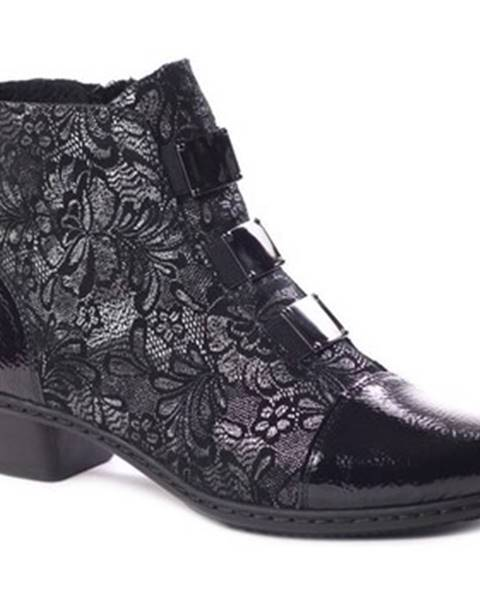 Viacfarebné topánky Rieker
