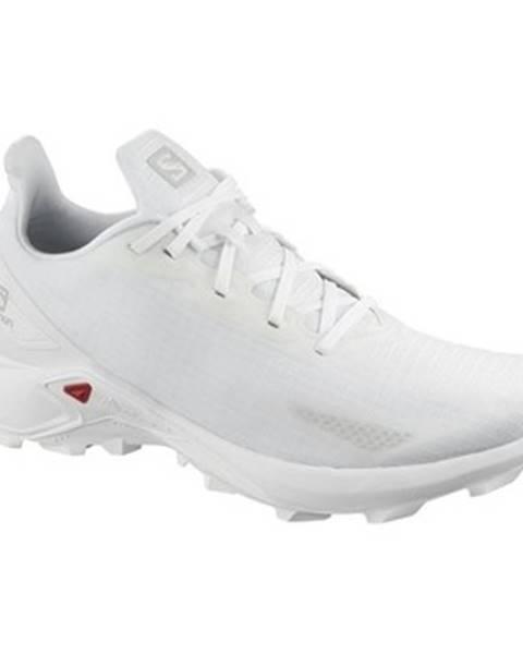 Biele topánky Salomon